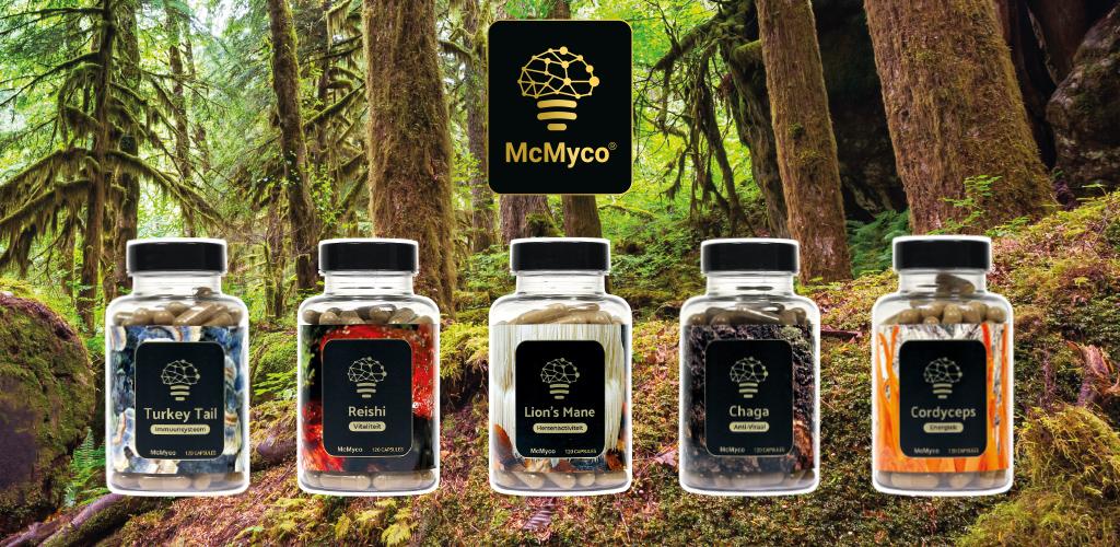 McMyco geneeskrachtige paddenstoelen supplementen